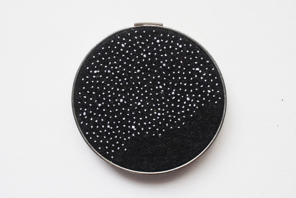 Constellations Embroidery Art - The Final Frontier - Space Astronomy Stars Halloween - Science Fiction - whatnomints