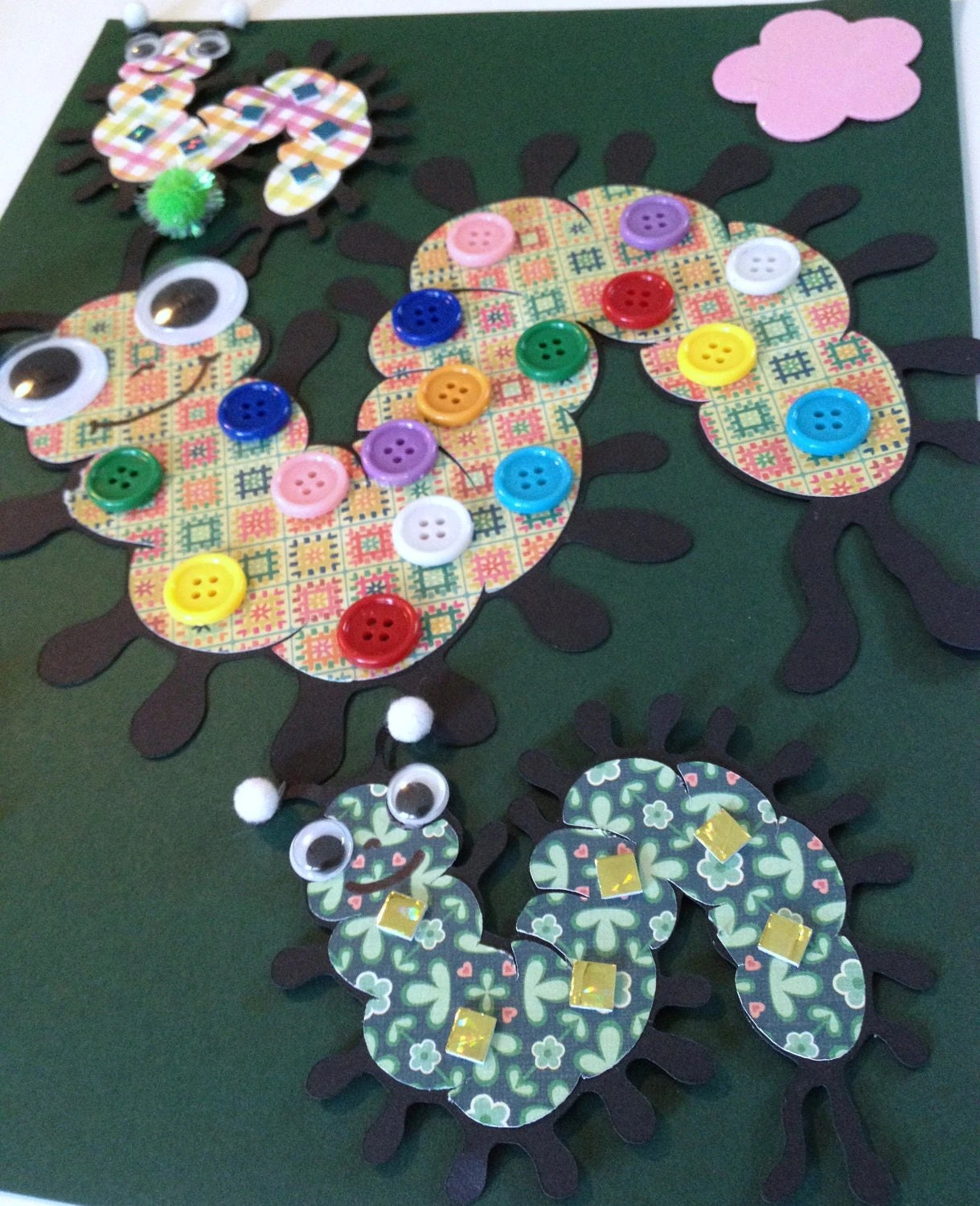 Paper Centipede Bugs Craft Kit For Kids By Mimiscraftshack