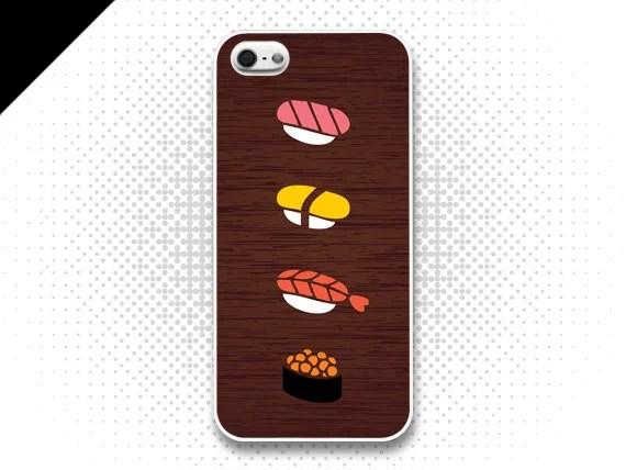 iPhone 5 Case - I love sushi,iPhone Case, iPhone Case, iPhone 5 Case, Cases for iPhone5, IPHONE 5 - evoncase