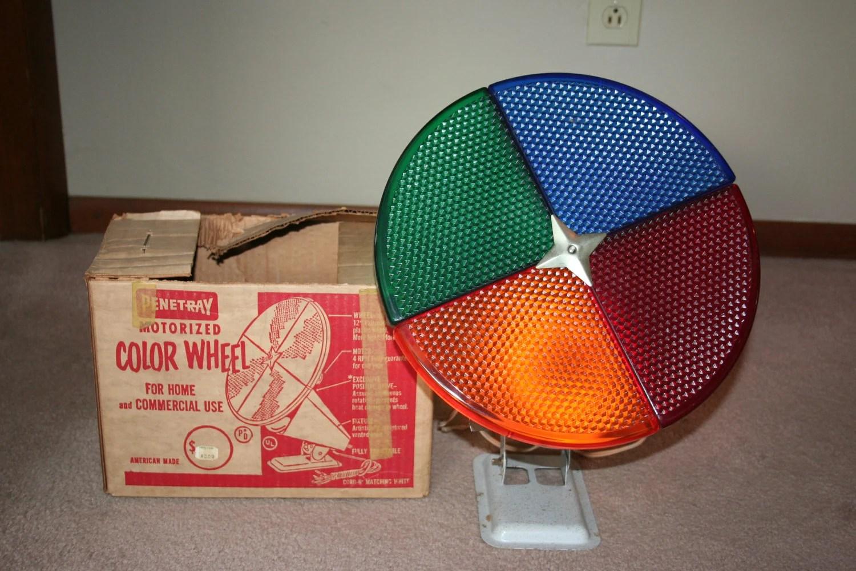 Best 28 Color Wheel Christmas Tree Light Retro