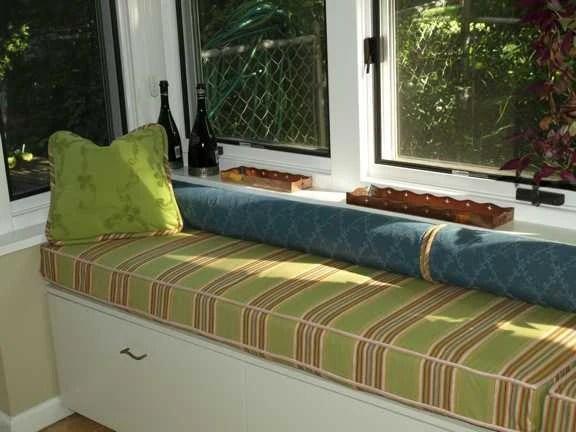 Custom Window Seat Cover