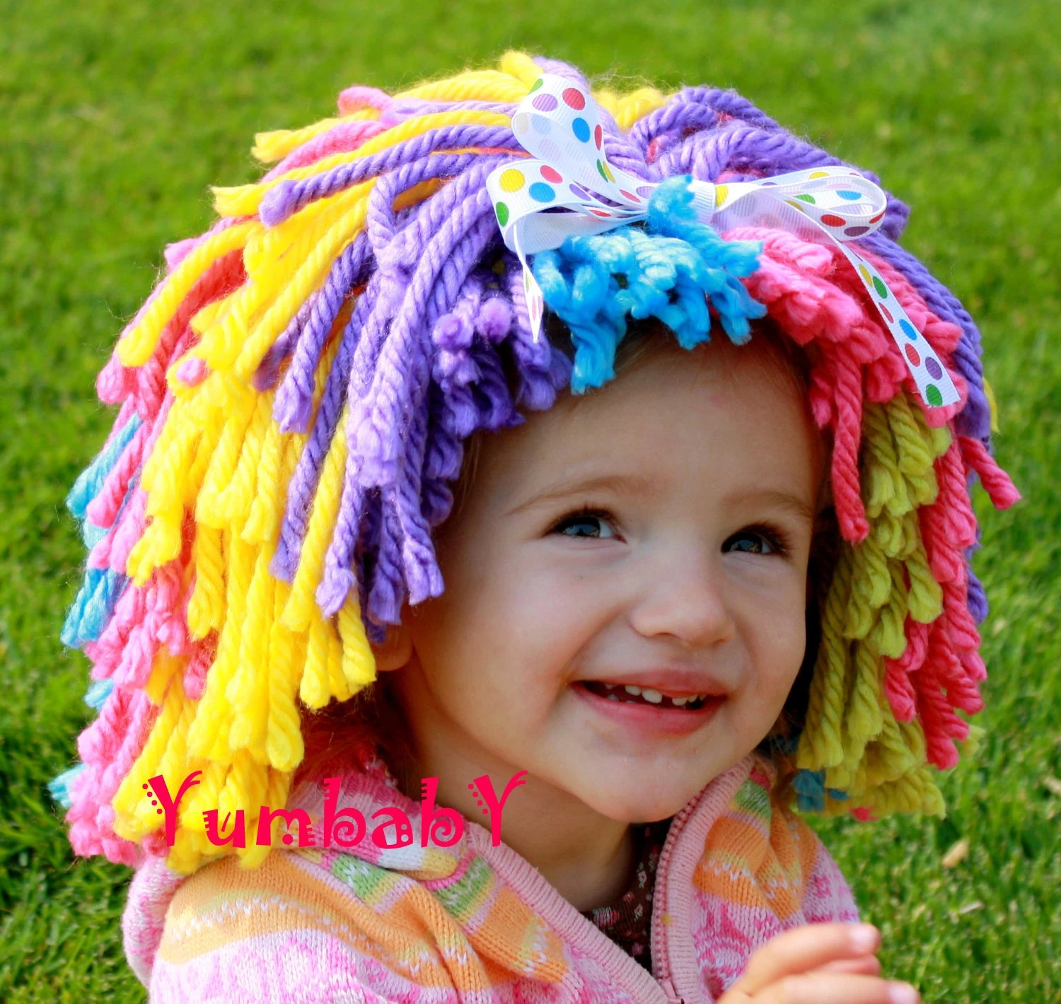 Clown Wig Halloween Costume Clown Costume Baby Hat Toddler