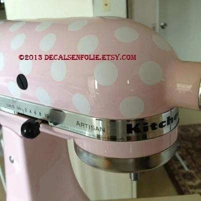Kitchen Mixer Appliance Removable Vinyl Decal Sticker 81