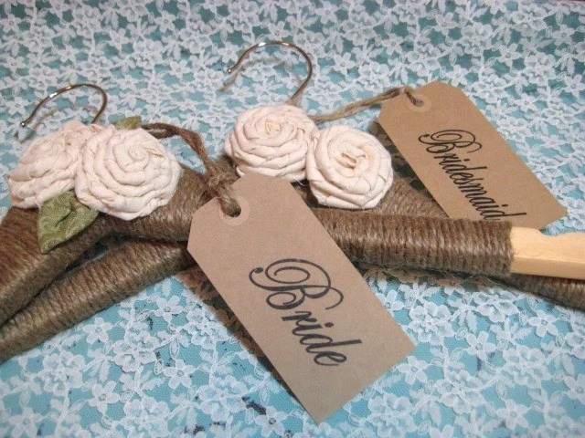 WEDDING DRESS HANGER Personalized Hanger Name By