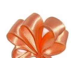 "Peach Wire Ribbon...1"" X 10 yards - ThisandThatCrafter"