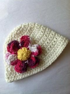 White Sun Hat, Crochet Baby Hat, Newborn Hat, Baby Hat, White Hat,  Baby Hat, Baby Girl Hat, Summer Sun Hat