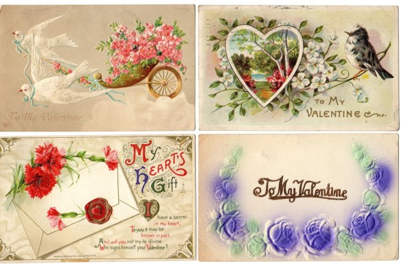 Lot of 4 Antique vintage ...