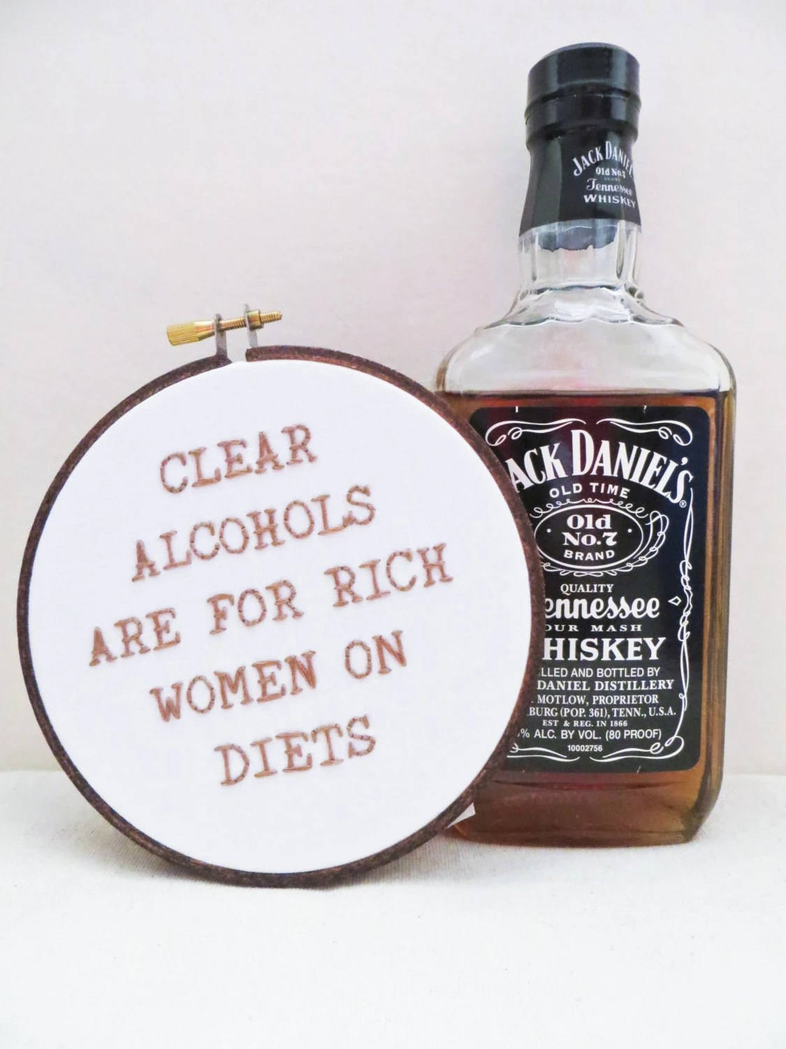 Parks and Rec TV Quote - Clear Alcohols Are For Rich Women on Diets : Kitchen Home Decor