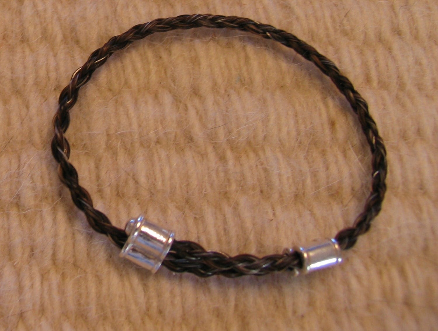 Custom Horsehair Bracelet Keepsake Or By HoofprintsOnMyHeart