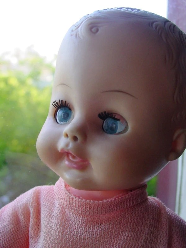 Items Similar To 1960s Horsman Molded Hair Boy Baby Doll