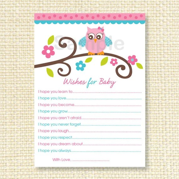 Baby Wishes Template. card sayings christmas birthday card ...