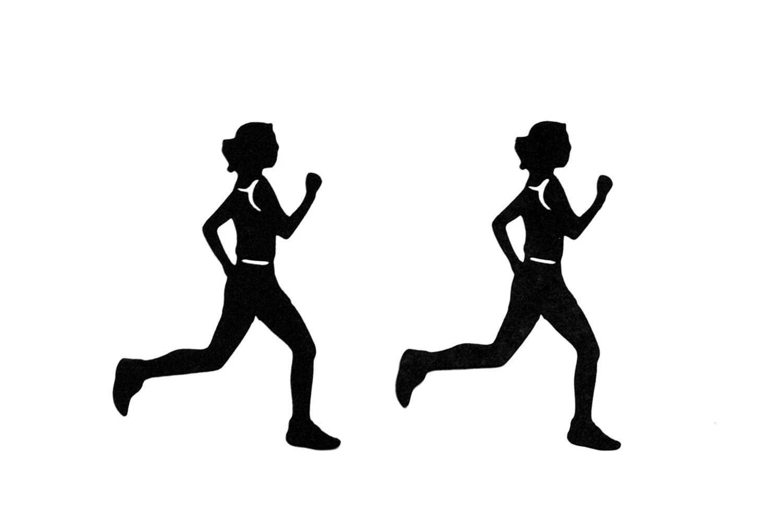 Runner Cut Silhouette Female Set Of 4