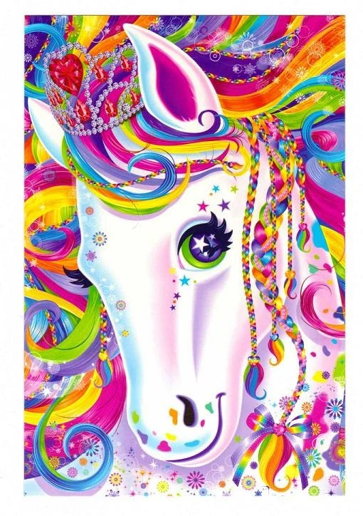 lisa frank majesty the rainbow horse by collectorswarehouse