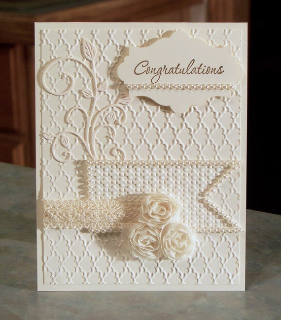 Stampin Up Congratulations Card 4 14 X 5 12 By