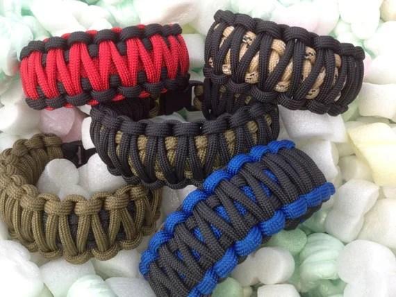 paracord bracelets etsy