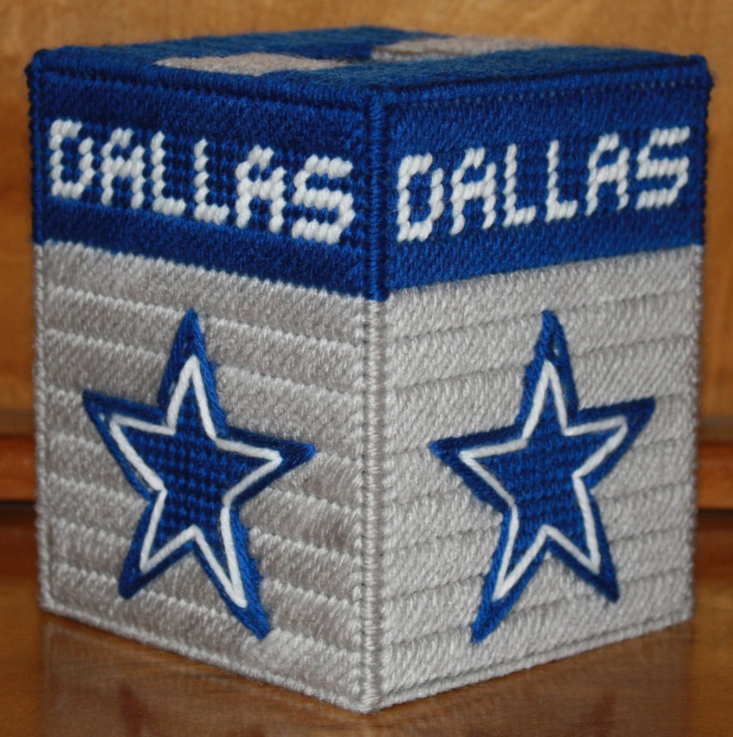 Items Similar To Dallas Cowboys Tissue Box Cover In