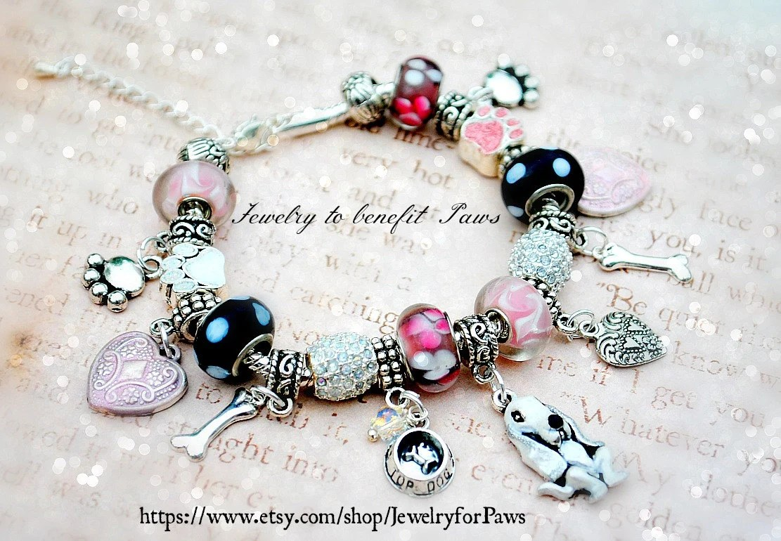 Basset Hound Bracelet Custom Designed - Great Mothers Day Gift