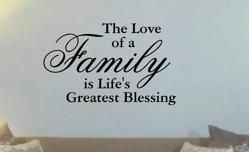 Download The Love of a Family is Life's Greatest Blessing Vinyl