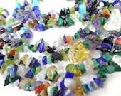 Mixed Stone Tiny Chip Beads Jewelry Making Supplies - MegansBeadedDesigns