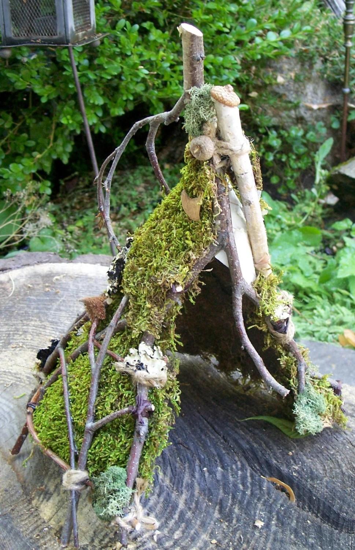 Woodland Fairy House Fairy Hut Frog House Natural Garden