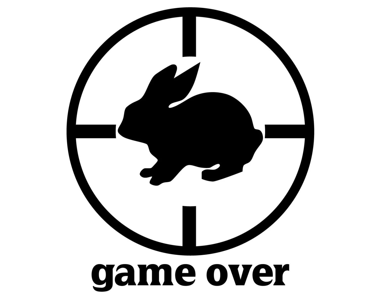 Rabbit Hunter Decal Rabbit Hunting Sticker Small Game