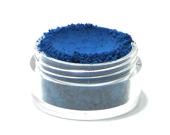 LAZULI - matte medium to dark blue / azure blue - Mineral Eyeshadow 5g Mini (Vegan) Natural Eye Shadow Pigment - Etherealle