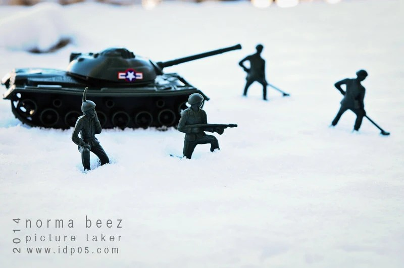 Waiting - Army Men Series; Winter Edition