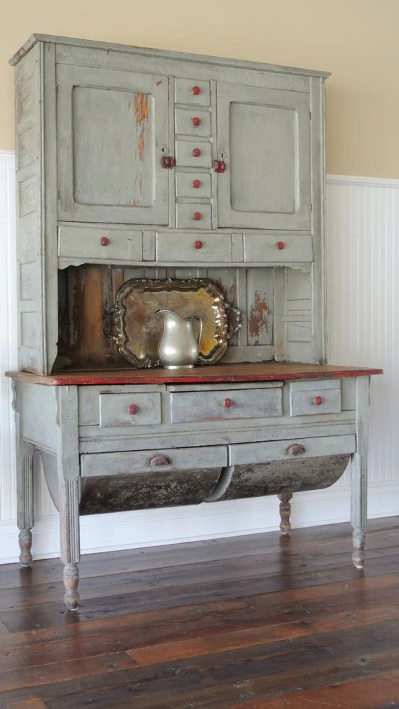Items Similar To Possum Belly Hutch Circa 1860 On Etsy