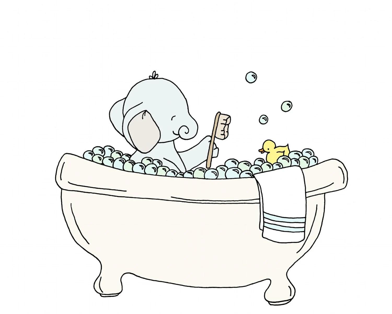 Bubble Bath Clipart