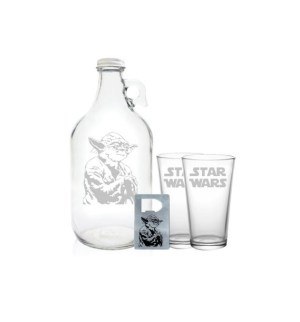 "Star Wars Growler 64oz- Beer Growler with Star Wars Engraving- ""Star Wars"" Gift"