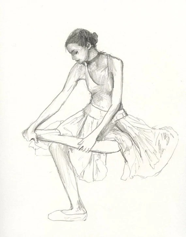 Dibujos De Bailarinas De Ballet A Lapiz Imagui Interiorhalloweenco