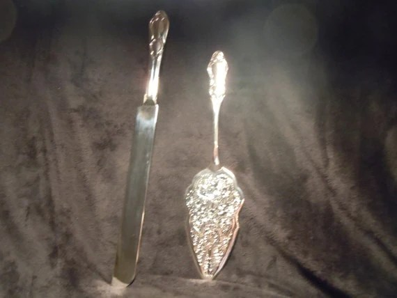 Silver Treasures By Godinger Silver Plated Cake Server Amp Knife