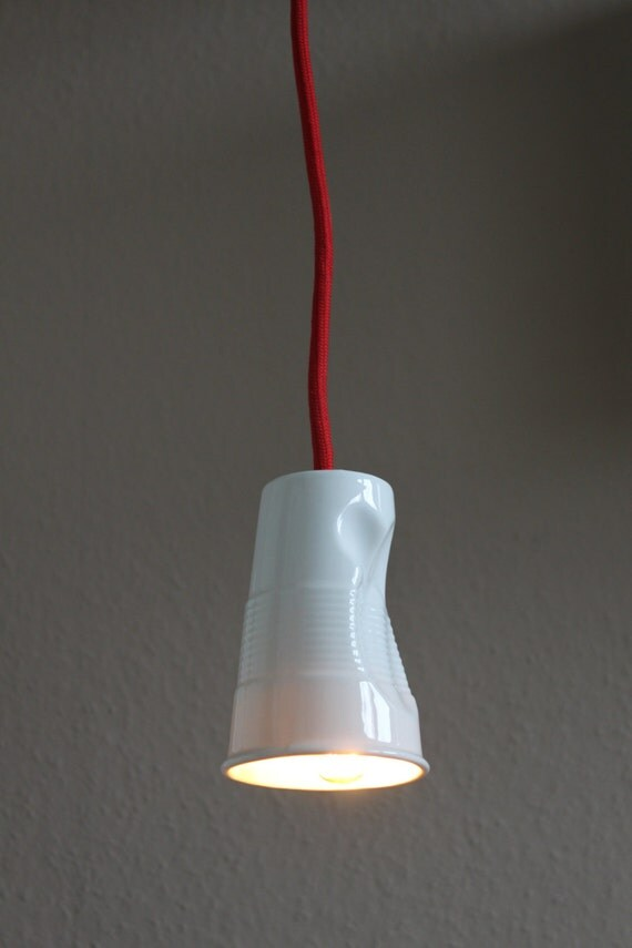 Paper cup light