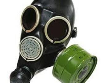 Gas Mask Etsy