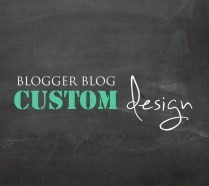 Custom Blogger Design Template Layout