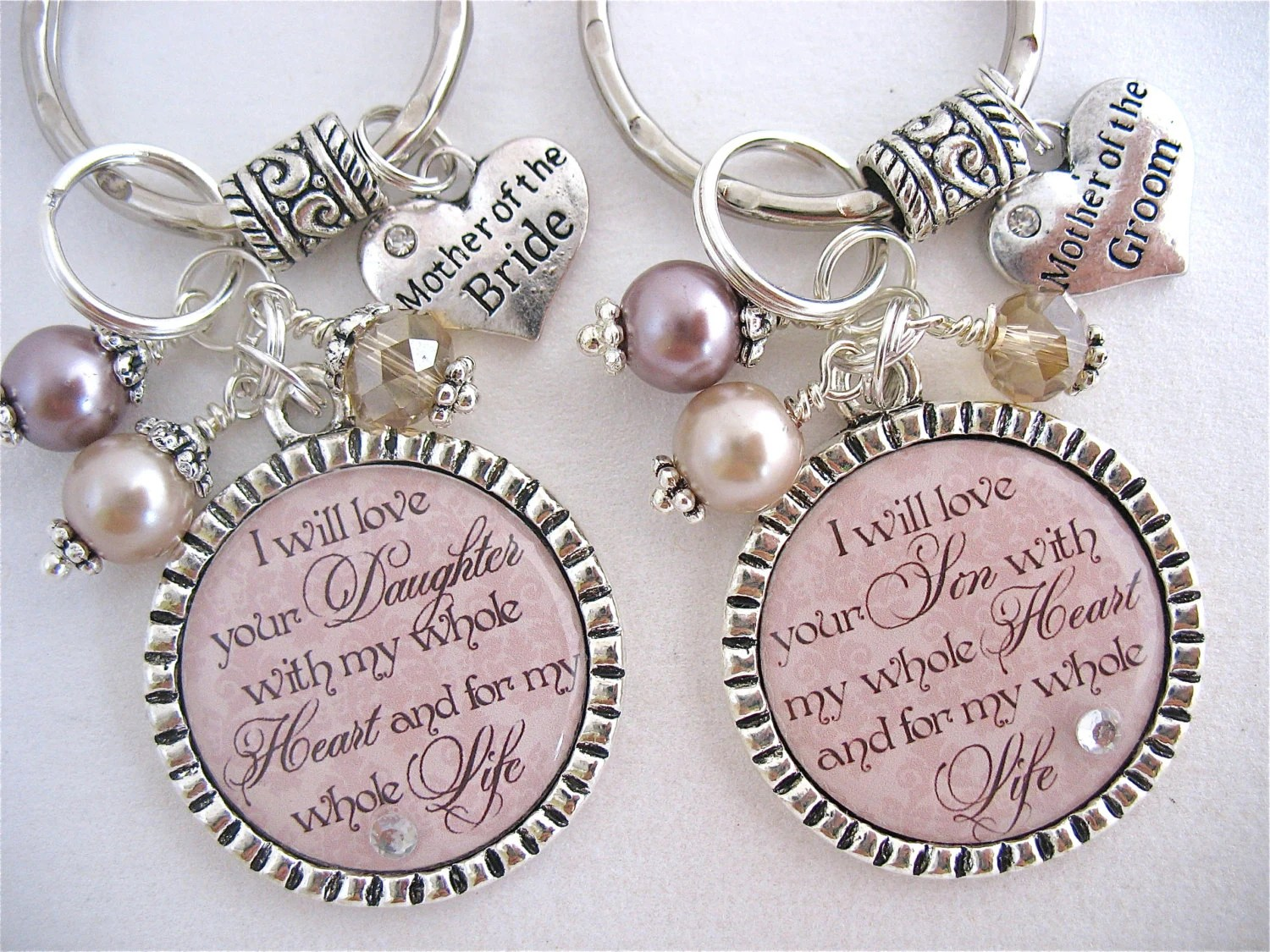 Personalized Wedding Jewelry For MOTHER Of The BRIDE Mother