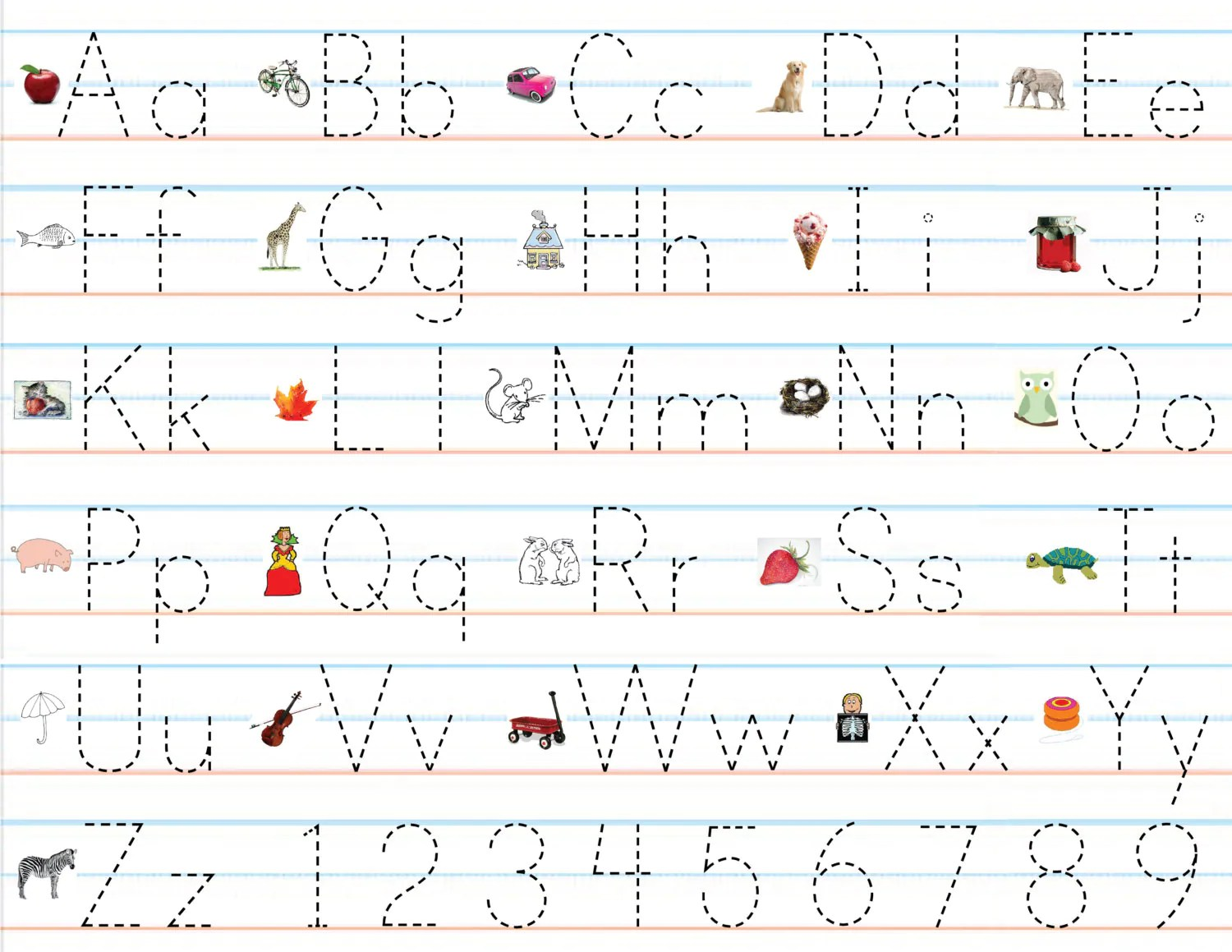 Class Pack Of Laminated Alphabet Amp Number By Pipandloudesigns