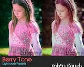 Lightroom Presets - 5 Berry Tone Photography Presets for Lightroom