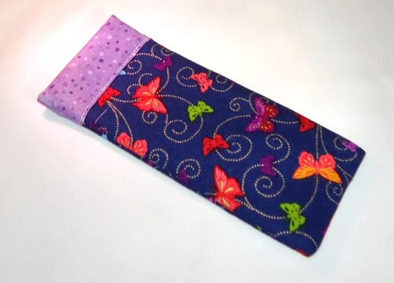 Butterflies Snappy Eyeglass Case - FREE Shipping - VABeachQuilter