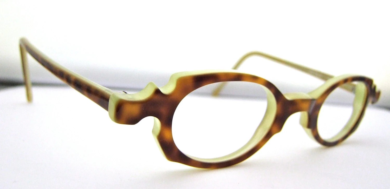 Rare Designer Eye Anne Et Valentin Eyeglasses Made In France
