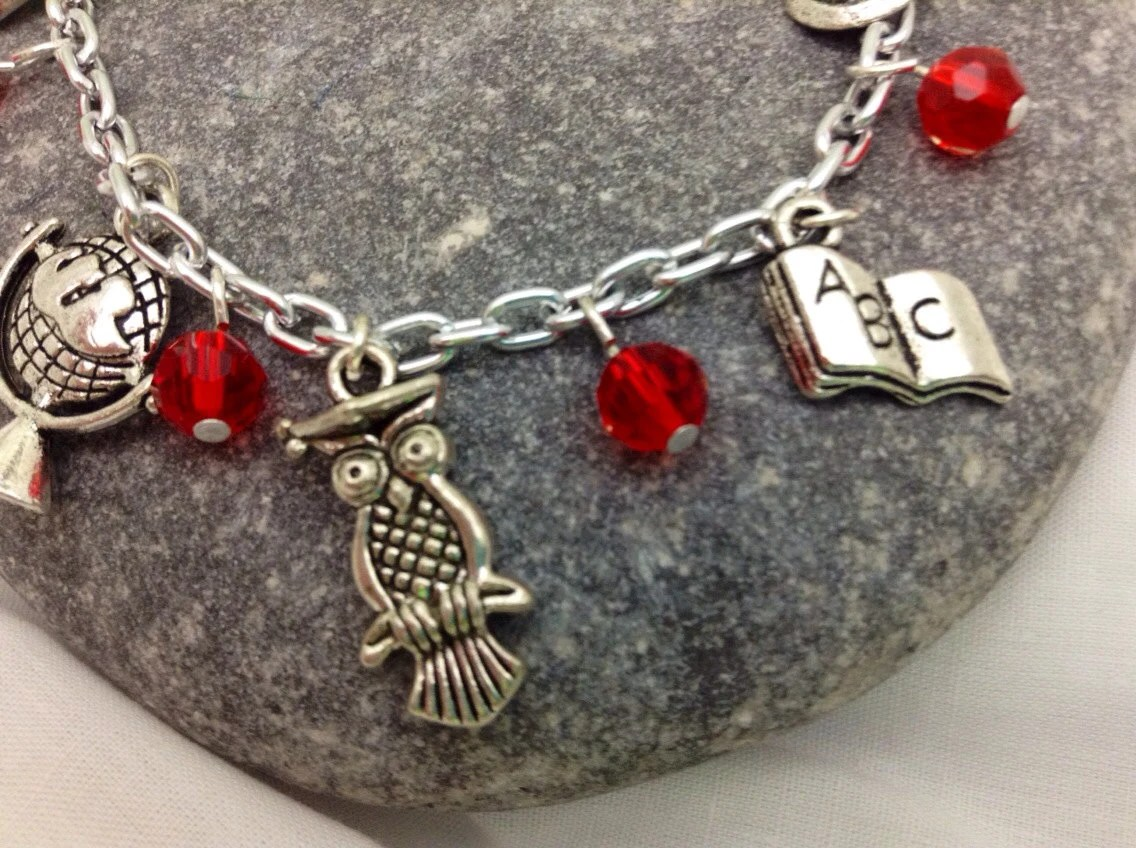 Charm Bracelet - Teaching Themed Charms