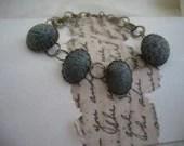 Vintage Recrafted Earring Bracelet