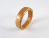 Cherry Bent wood ring mad...