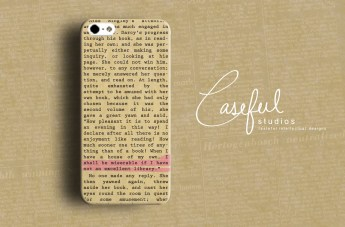 Capa de iPhone - Jane Austen