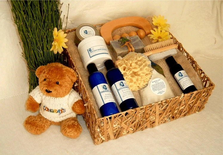 New Mother's Retreat Spa Gift Basket