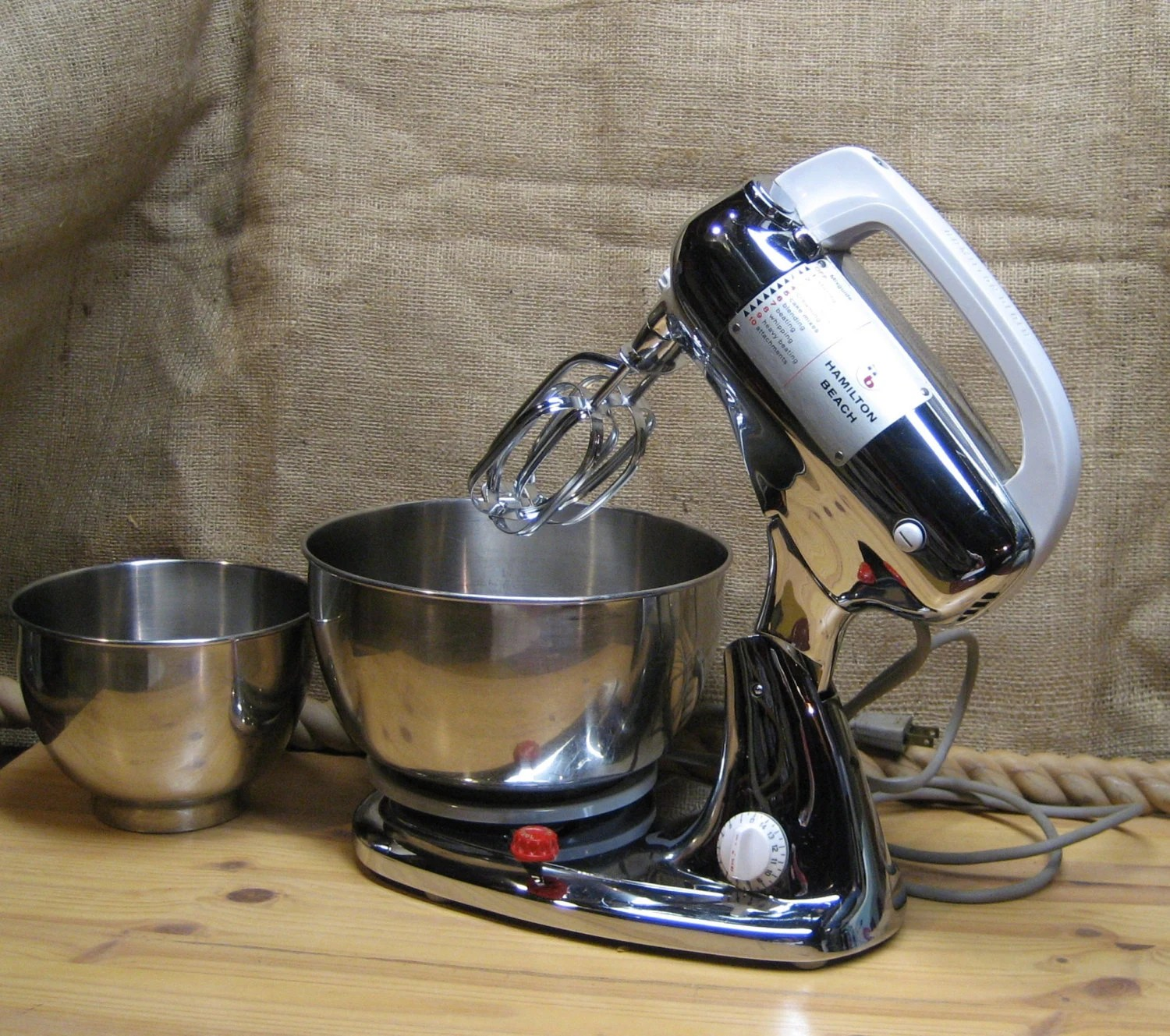 Hamilton Beach Stand Up Mixer Model K Just Reduced