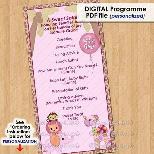 Event Program Design Templates website template 10205 art gallery – Baby Shower Program Template