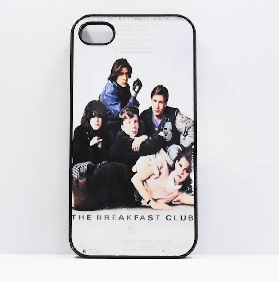 Iphone 5 iphone 4/4s  5S 5C  Breakfast Club VIntage  Movie Posters  mobile cell phone cover snap case