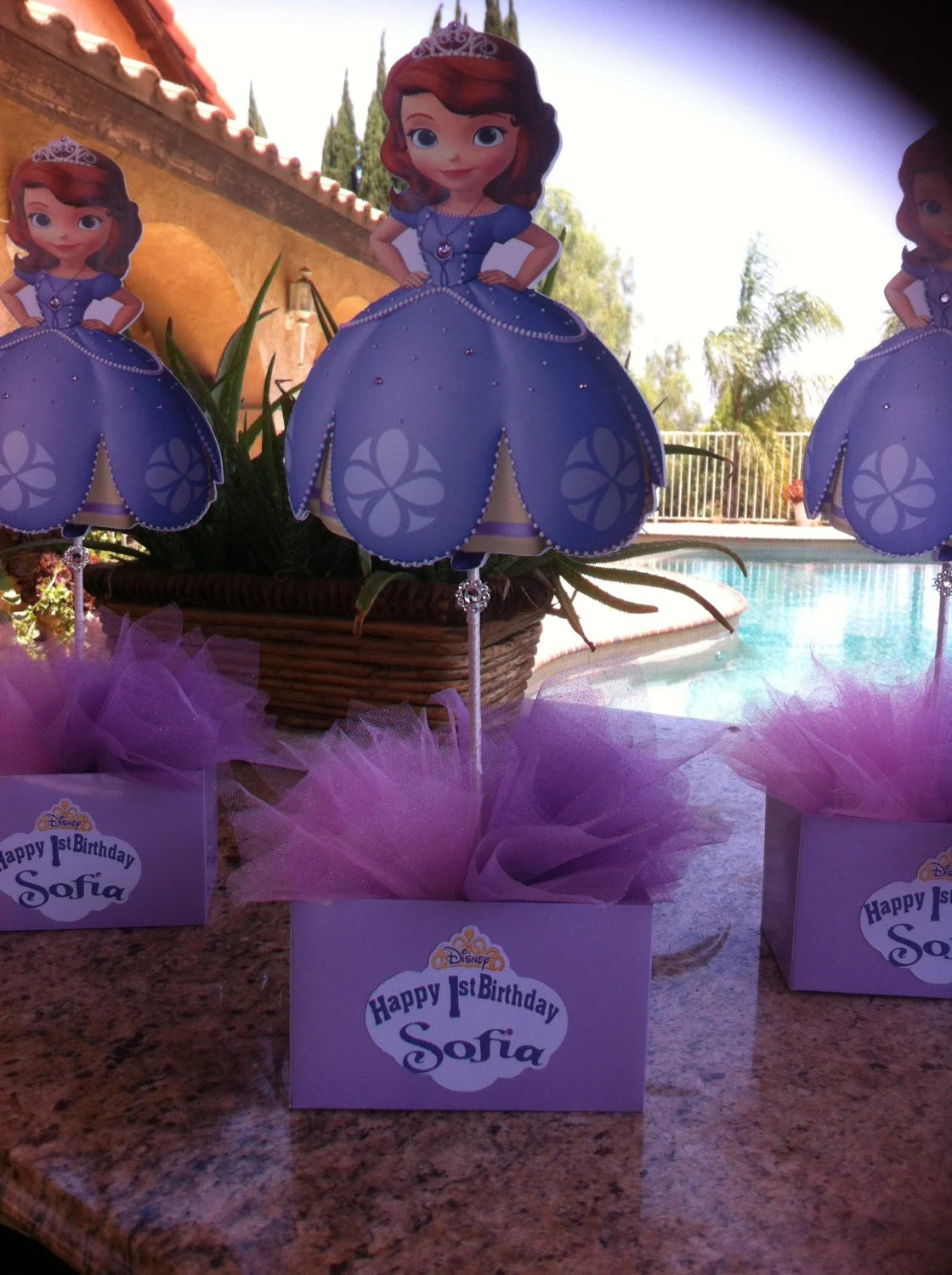 Sofia The First Sofia The First Centerpiece Sofia The First