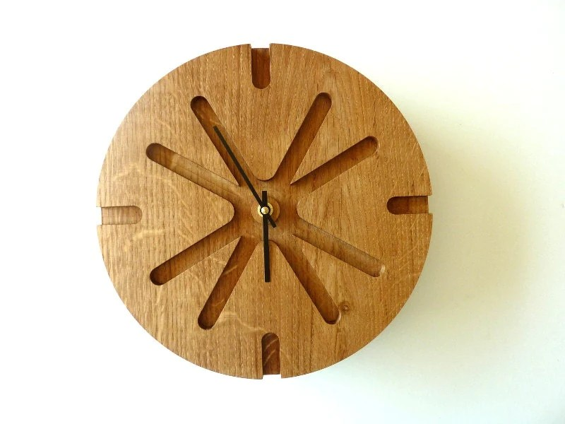 Wood Wall Clock Unique Wall Clock Wood Wall Decor Modern